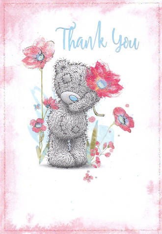 Thank You Card Me To You Flower