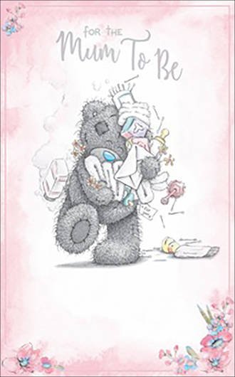 Baby Expecting Card Me To You Mum To Be