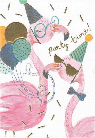 Louise Tiler Animals Flamingo