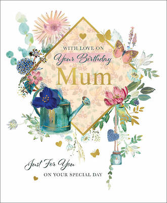 Mum Birthday Card On Your Special Day