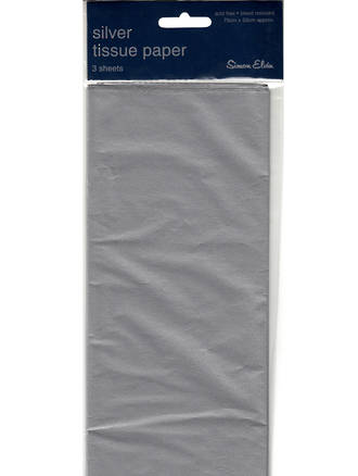 Tissue Paper Pack Silver