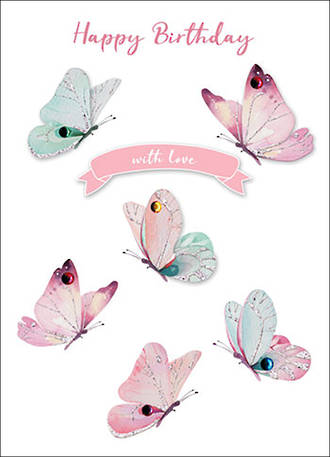 Autograph Butterflies With Love
