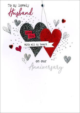 Anniversary Card Husband Irresistible Anniversary