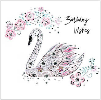 Pearl Swan Birthday Wishes