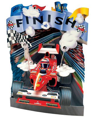 Santoro Swing Cards Racing Car
