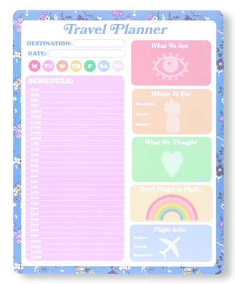 Take Me Somewhere Daily Planner Pad