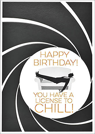 Roam Happy Birthday License To Chill