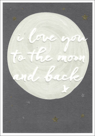 Wish Love You Moon And Back