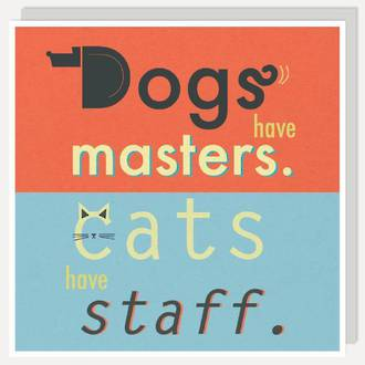 Lettered Dogs Have Masters