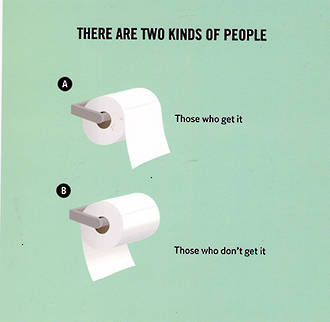 Truth Facts Toilet Roll