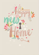 New Home Card Life & Soul Happy