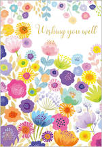 Get Well Card Flower Garden
