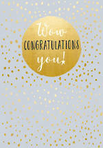 Congratulations Card Life & Soul You