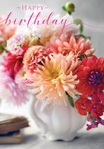 Posies & Petals Birthday Dahlias