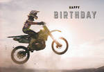 Graphite Birthday Dirt Bike