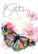 Azalea Birthday Butterfly