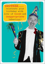 Brother Birthday Card Frank By Name Booze