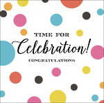 Congratulations Card Velvet Ink Celebration