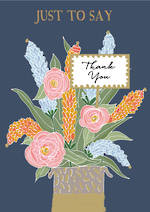Thank You Card Flowers in Box