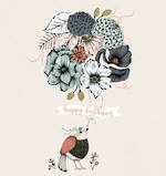 Ink & Bloom Birthday Floral Balloons