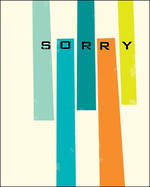 Sorry Card Ink Press Geometric