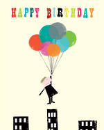 Ink Press Happy Birthday Balloon Man