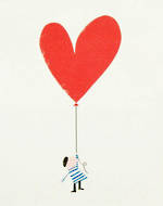 Ink Press Heart Balloon