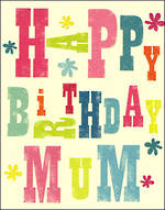 Mum Birthday Card Ink Press