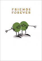Special Friend Card Takes Two Friends Forever
