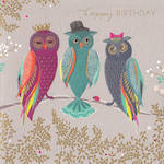Sara Miller Birthday Three Owls