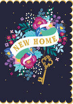 New Home Card Summer Bazaar