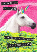 Ticker Tape Unicorn Farts