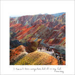 Travelogue Rainbow Mountains