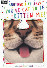 Facematts Funnimals Cat To Be