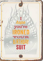 Grin & Tonic Iron Birthday Suit