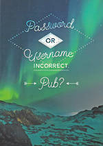 Quoteunquote Password or Username