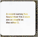 Quotish Recent Survey