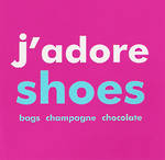 Blank Card Typographic Bluebell33 J'Adore Shoes