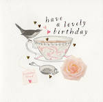 Quill Lovely Birthday Teacup
