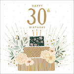 Birthday Age Card 30 Female Jade Mosinki