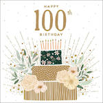 Birthday Age Card 100 Female Jade Mosinki