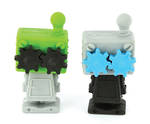 Novelty Eraser Set Small Robots