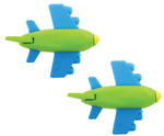 Novelty Eraser Set Small Planes