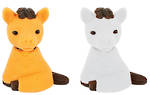 Novelty Eraser Set Small Horses