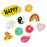 Happy News Eraser Set