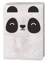 Happy Zoo Plush Notebook Panda