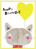 Party Popper Birthday Cat