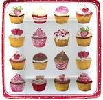 Paper Plates Side Plate Cupcakes