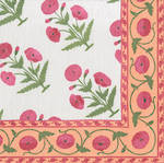 Cocktail Napkins Caspari Poppy Fuchsia