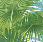Lunch Napkins Caspari Palm Fronds